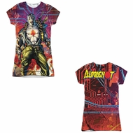Bloodshot Shirt Cyber War Sublimation Juniors Shirt