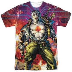 Bloodshot Shirt Cyber War Sublimation Shirt