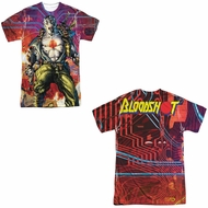 Bloodshot Shirt Cyber War Sublimation Shirt Front/Back Print