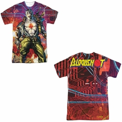 Bloodshot Shirt Cyber War Sublimation Youth Shirt