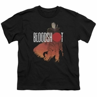 Bloodshot Shirt Kids Orange Glow Black T-Shirt