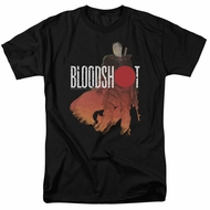 Bloodshot Shirt Orange Glow Black T-Shirt