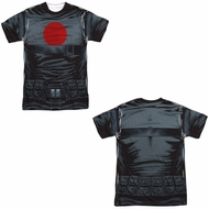 Bloodshot Shirt Shirt Sublimation Shirt Front/Back Print