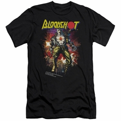 Bloodshot Shirt Slim Fit Comic Black T-Shirt