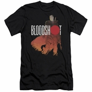 Bloodshot Shirt Slim Fit Orange Glow Black T-Shirt
