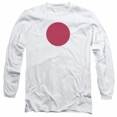 Bloodshot Shirt Spot Long Sleeve White Tee T-Shirt