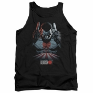 Bloodshot Shirt Tank Top Blood Lines Black Tanktop