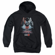 Bloodshot Youth Hoodie Blood Lines Black Kids Hoody