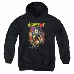 Bloodshot Youth Hoodie Comic Black Kids Hoody