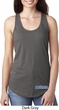 Blue Dodge Charger Bottom Print Ladies Ideal Tank Top