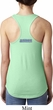 Blue Dodge Charger Neck Print Ladies Ideal Tank Top