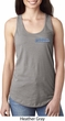 Blue Dodge Charger Pocket Print Ladies Ideal Tank Top