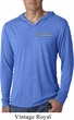 Blue Dodge Charger Pocket Print Lightweight Hoodie Shirt