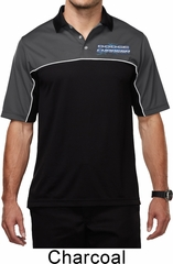 Blue Dodge Charger Pocket Print Mens Polo Shirt