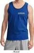 Blue Dodge Charger Pocket Print Mens Tank Top
