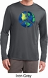 Blue Earth Peace Mens Dry Wicking Long Sleeve Shirt