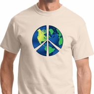 Blue Earth Peace Mens Shirts