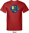 Blue Earth Peace Mens Tall Shirt
