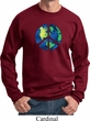 Blue Earth Peace Sweatshirt