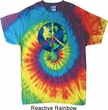Blue Earth Peace Tie Dye Shirt