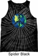 Blue Earth Peace Tie Dye Tank Top
