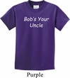 Bob's Your Uncle Funny Kids Shirt