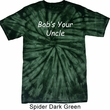 Bob's Your Uncle Funny Spider Tie Dye Shirt