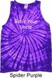 Bob's Your Uncle Funny Tie Dye Tank Top