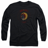Bon Jovi Long Sleeve Shirt 1987 Black Tee T-Shirt