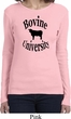 Bovine University Ladies Long Sleeve Shirt