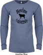 Bovine University Long Sleeve Thermal Shirt