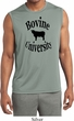 Bovine University Mens Sleeveless Moisture Wicking Shirt