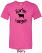 Bovine University Mens Tri Blend Crewneck Shirt