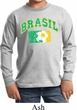 Brasil Kids Long Sleeve Shirt
