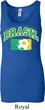 Brasil Ladies Longer Length Tank Top