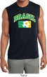 Brasil Mens Sleeveless Moisture Wicking Shirt