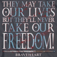 Braveheart Freedom Shirts