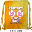 Breast Cancer Awareness Bag Protect 2nd Base Tie Dye Bag