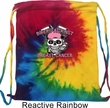 Breast Cancer Awareness Bikers Against Breast Cancer Tie Dye Bag