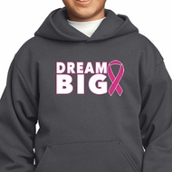 Breast Cancer Awareness Dream Big Kids Hoody