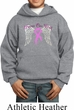 Breast Cancer Awareness Heaven Can Wait Kids Hoody