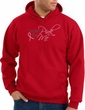 Breast Cancer Awareness Hoodie - I Wear Pink For Me Red Hoody