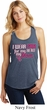Breast Cancer Awareness Pink for My Hero Ladies Racerback Tank Top