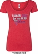 Breast Cancer Awareness Pink for My Hero Ladies Scoop Neck Shirt