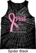 Breast Cancer Awareness Pink For Someone Special Tie Dye Tank Top
