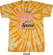 Breast Cancer Awareness Pink For Someone Special Twist Tie Dye Shirt