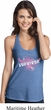 Breast Cancer Awareness Survivor Wings Ladies T-Back Tank Top