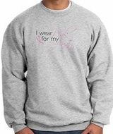 Breast Cancer Awareness Sweatshirts - I Wear Pink For My Aunt