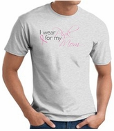 Breast Cancer Awareness T-shirts - I Wear Pink For My Mom