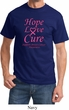 Breast Cancer Awareness Tee Hope Love Cure T-shirt